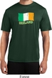 St Patrick's Day Distressed Ireland Flag Mens Moisture Wicking Shirt