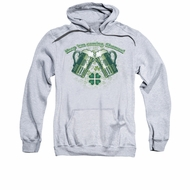 St. Patrick's Day Hoodie Sweatshirt Green Beer Athletic Heather Adult Hoody Sweat Shirt