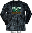 St Patrick's Day Ireland EST 1922 Drinking Team Long Sleeve Tie Dye