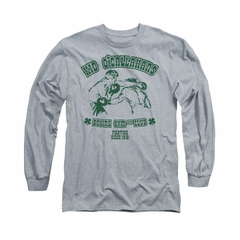 St. Patrick's Day Shirt Kid O'Callahan's Long Sleeve Athletic Heather Tee