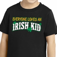 St Patricks Day Irish Kid Toddler T-shirt