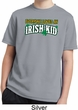 St Patricks Day Irish Kid Youth Dry Wicking T-shirt