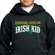 St Patricks Day Irish Kid Youth Hoodie