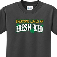 St Patricks Day Irish Kid Youth Shirts
