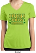 St Patricks Day Irish Today Hungover Ladies Dry Wicking V-neck