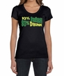 St Patricks Day Ladies Shirt 10% Irish 90% Drunk Scoop Neck Tee