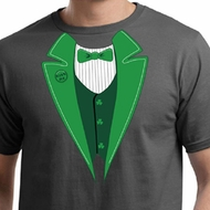 St Patricks Day Mens Shirt Irish Tuxedo Organic Tee T-Shirt