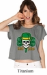 St Patricks Day Tee Irish Pride Ladies Boxy Shirt