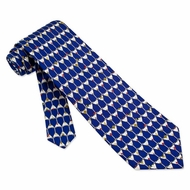 Stack of Martinis Blue Silk Tie Necktie � Men�s Food Drink Neck Tie