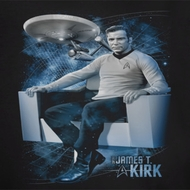 Star Trek Captain's Chair Shirts