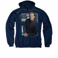 Star Trek - Enterprise Hoodie Sweatshirt Trip Tucker Navy Adult Hoody Sweat Shirt