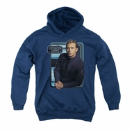 Star Trek - Enterprise Youth Hoodie Trip Tucker Navy Kids Hoody