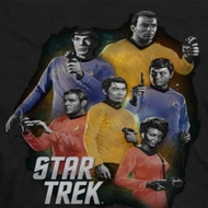 Star Trek Galaxy Glow Shirts