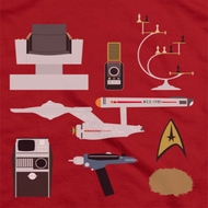 Star Trek Gift Set Shirts