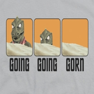 Star Trek Going Going Gorn Shirts