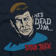 Star Trek He's Dead Jim Shirts