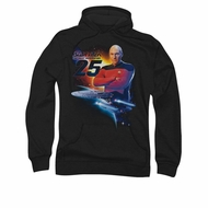 Star Trek Hoodie The Next Gen 25 Black Sweatshirt Hoody