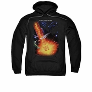Star Trek Hoodie Undiscovered Black Sweatshirt Hoody