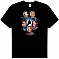 Star Trek Kids T-shirt - Starfleet's Finest Youth Black Tee