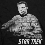 Star Trek Kirk Words Shirts