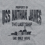 The Last Ship Property Of Shirts