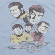 Star Trek Retro Crew Shirts