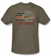Star Trek Shirt Bring On The Gorn Adult Safari Tee T-Shirt