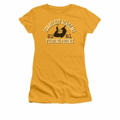 Star Trek Shirt Juniors Fighting Phoenix Gold T-Shirt