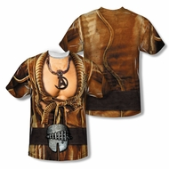 Star Trek Shirt Khan Costume Sublimation Shirt Front/Back Print