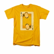 Star Trek Shirt King Gold T-Shirt