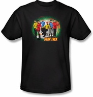 Star Trek Shirt - Original Crew Enterprise's Finest Adult Black