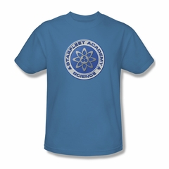 Star Trek Shirt Science Carolina Blue T-Shirt