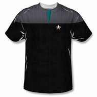 Star Trek Shirt Science Costume Sublimation Shirt