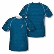 Star Trek Shirt Science Costume Sublimation Youth Shirt