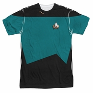 Star Trek Shirt Science Uniform Sublimation Shirt