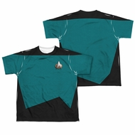 Star Trek Shirt Science Uniform Sublimation Youth Shirt