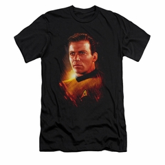 Star Trek Shirt Slim Fit Epic Kirk Black T-Shirt