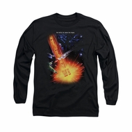 Star Trek Shirt Undiscovered Long Sleeve Black Tee T-Shirt
