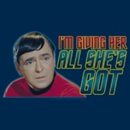 Star Trek Shirts - All She's Got T-Shirts