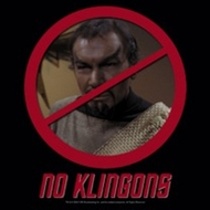 Star Trek Shirts - No Klingons T-Shirts