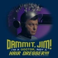 Star Trek Shirts - Not A Hair Dresser T-Shirts