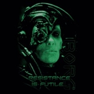 Star Trek Shirts - Resistance Is Futile T-Shirts