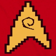 Star Trek - The Original Series 8 Bit Engineering Red Shirts