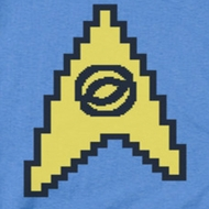 Star Trek - The Original Series 8 Bit Science Shirts