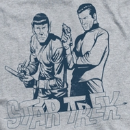 Star Trek - The Original Series Brains & Guts Ringer Shirts