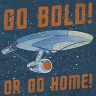 Star Trek Shirts - The Original Series Go Bold Shirts