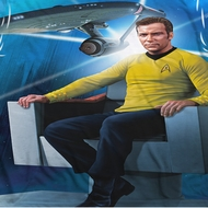 Star Trek - The Original Series Kirk's Ship Sublimation Shirts