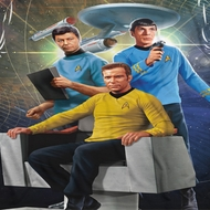Star Trek - The Original Series Kirk Spock Mccoy Sublimation Shirts