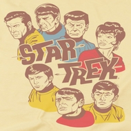 Star Trek - The Original Series Retro Illustrated Crew Shirts