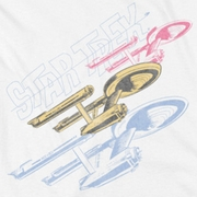 Star Trek - The Original Series Retro Tri Enterprise Shirts